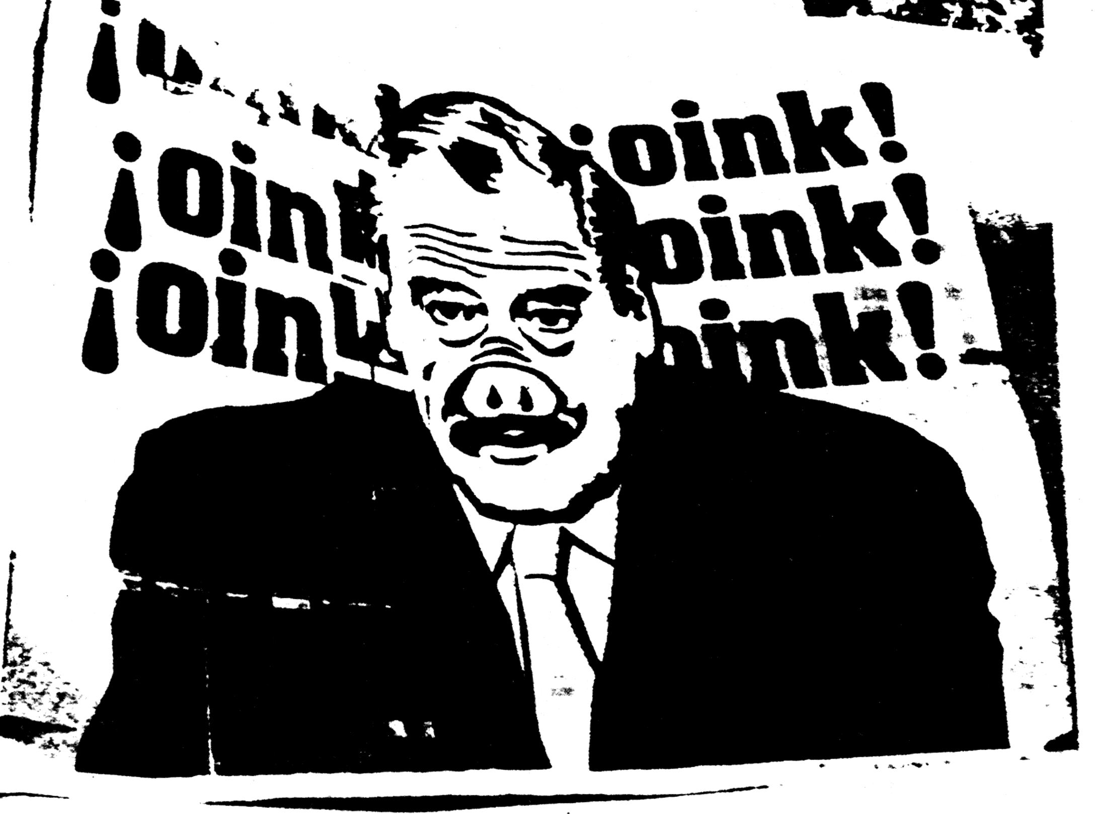 Fox oink