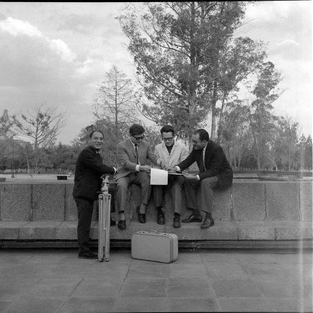 1964 Muñoz Anteo Warman y Bonfil en el MNA mar
