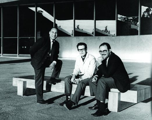 1964 Muñoz Warman y Bonfil en el MNA mar